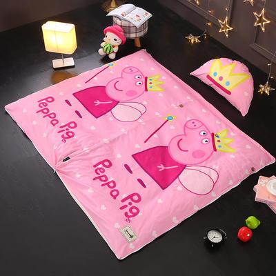 北欧极暖绒INS大版数码印花保暖睡袋  睡袋单外套(3斤) 佩琪公主