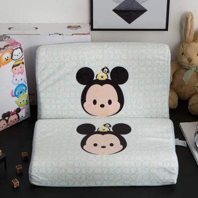 迪士尼天然进口乳胶枕儿童学生卡通A品进口乳胶枕芯 米奇27*44cm