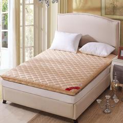 磨毛加厚床垫 90*200cm 驼色