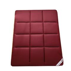 磨毛压花无框床垫 90*200cm 秀红色