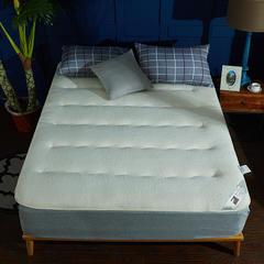 针织布/舒棉绒 双面用抗菌夹 棉记忆棉床垫 0.9m(学生床) 舒棉绒(白色)