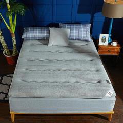 针织布/舒棉绒 双面用抗菌夹 棉记忆棉床垫 0.9m(学生床) 舒棉绒(灰色)