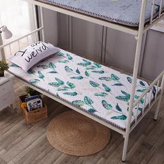 水洗布绗绣加厚床垫 1.0m(3.3英尺)床 灰格