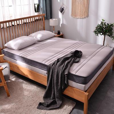 记忆棉立体直线床垫 90*200cm 5cm款米色