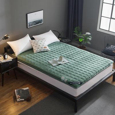 全棉抗菌床垫 90*200cm 墨绿