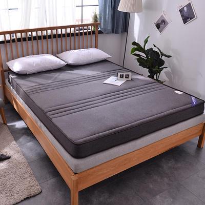 亞麻立體雙面用床墊 90*200cm 6cm款灰色