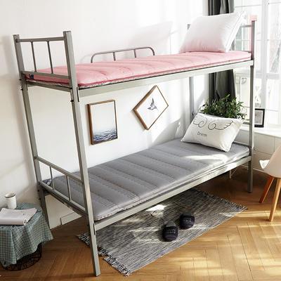 3D绗绣加厚床垫学生款 90*200cm 驼色