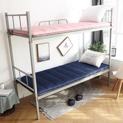 3D絎繡加厚床墊學生款 90*200cm 寶藍