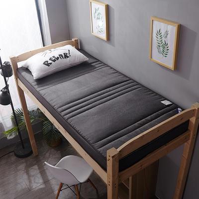 亚麻立体双面床垫 90*200cm 6cm米色