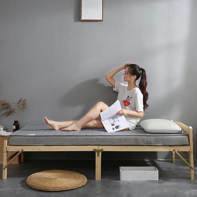 乳胶+双面用床垫立体6cm-10cm款 1.0m(3.3英尺)床 6cm灰