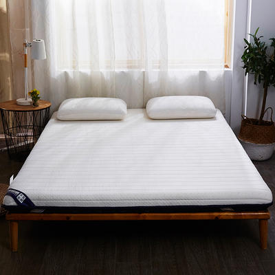 乳胶双面用床垫单边6cm-10cm款 90*200cm 6cm白