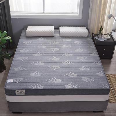 2020新款-乳膠記憶棉立體床墊(6cm) 90*200 小草
