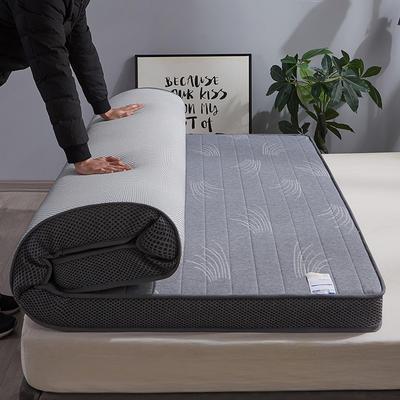 2020新款-乳胶记忆棉立体床垫(9cm) 90*200 小草
