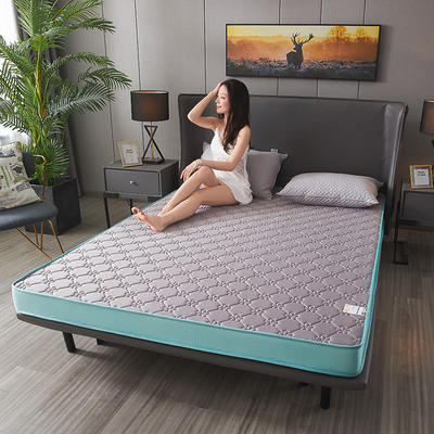2020新款-凉感丝乳胶立体床垫(6cm) 90*200 灰