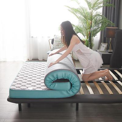 2020新款-凉感丝乳胶立体床垫(9cm) 90*200 灰