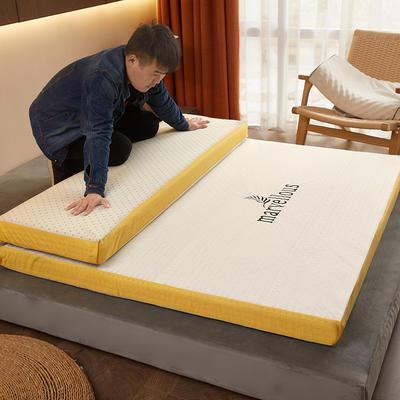 2020新款-活性炭記憶棉可拆洗床墊(9cm) 90*200 白