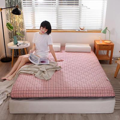 2020新款-全棉多层抗压加厚床垫 90*200 摩卡恋曲