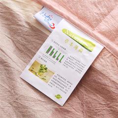 无印全棉色织水洗棉夏被薄荷纤维夏凉被 全棉空调被 150x200cm 粉大格