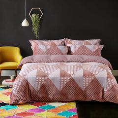 多芬-冬季棉绒3D雕花棉绒四件套 标准(1.5m-1.8m床) 柯尔顿 咖