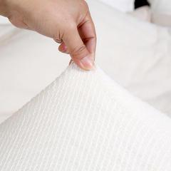 鱼鳞网机包边全棉棉花胎 90*200cm3斤 鱼鳞网机包边全棉棉花被