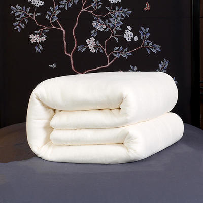 棉花被(无网棉花被模特图2) 220*240/6斤 无网棉花胎