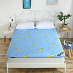 2018新款 加厚磨毛印花床垫 可定制其他尺寸,请联系客服 美丽皇冠