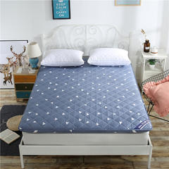 2018新款 加厚磨毛印花床垫 可定制其他尺寸,请联系客服 时尚爱巢