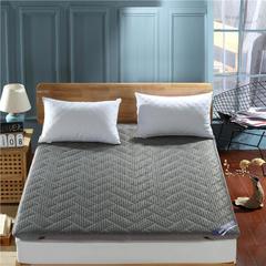 4D加厚透气床垫-单边款 120*200cm 灰色