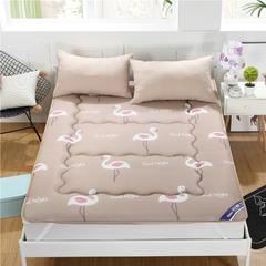 3D透气印花床垫-绗缝款 150*200cm 幸福鸟