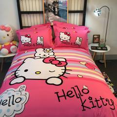 2017年新款磨毛卡通 1.2m(4英尺)床 holle kitty
