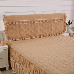 夹棉床头罩 120*50cm 温暖驼