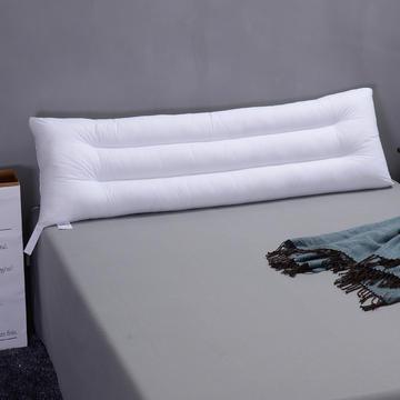 全棉水洗羽丝绒枕头水洗棉双人枕芯情侣枕