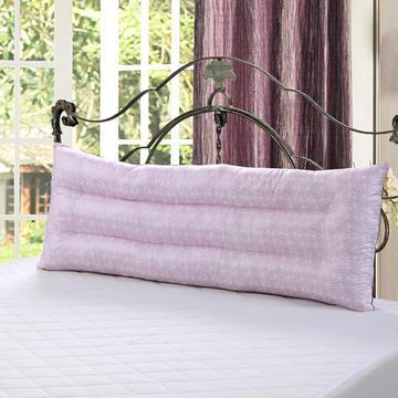 婚庆双人枕芯长枕头情侣枕芯1.2米1.5米1.8米玫瑰花款