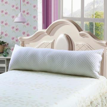 双人枕芯长枕头1.2,米1.5米1.8米水立方羽丝绒枕