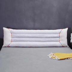 七彩决明子双人枕芯情侣枕头 七彩双人枕1.5米长
