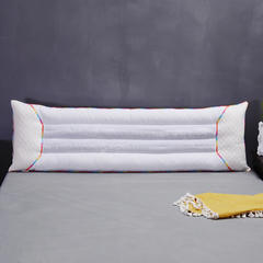 七彩决明子双人枕芯情侣枕头 七彩双人枕1.8米长