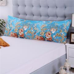 双人枕套纯棉 48cmX120cm 爱丽丝-兰