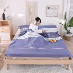 旅行隔脏睡袋-水洗棉系列 运动蓝80*220