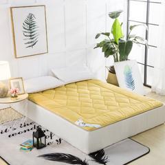 磨毛提花床垫 150*200   6斤 金色