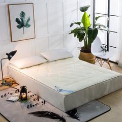 磨毛提花床垫 150*200   4斤 米色