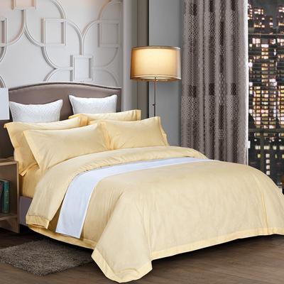 60长绒棉贡缎提花宾馆四件套 1.2m(4英尺)床 牡丹-米