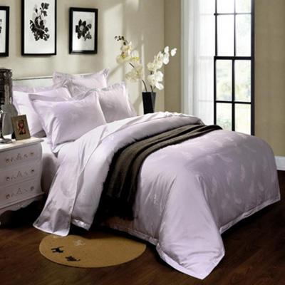60长绒棉贡缎提花宾馆四件套 1.2m(4英尺)床 羽翼