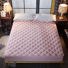 床护垫带床笠款 120*200 粉色