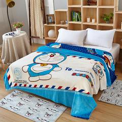 毯子系列 卡通KT猫毯 1.5*2米 叮当猫