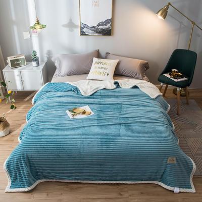 2020新款宝宝绒贝贝绒-双层复合毛毯 150*200cm 雅丽兰