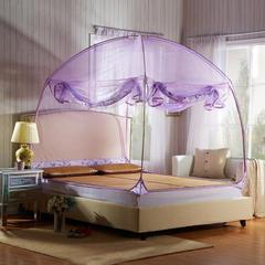 蒙古包蚊帐新款MG01 120*200*170 紫