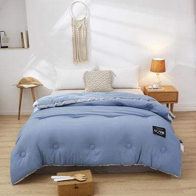 2020新款水洗棉立体冬被  被子被芯 150x200cm6斤 深眠-蓝