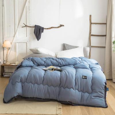 2019新款冬被系列     日系ins风北欧风马卡龙冬被 150*200/4斤 马卡龙-孔雀蓝