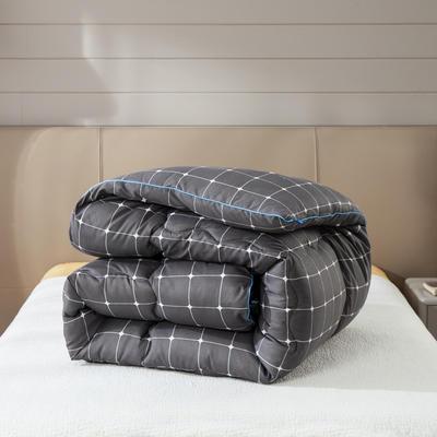 2019新款保暖摩绒学生冬被被子被芯 100*150/2斤 卡罗