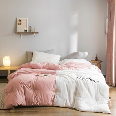 2019新款棉之家冬被被子被芯 150*200/5.5斤 The Home-粉黛